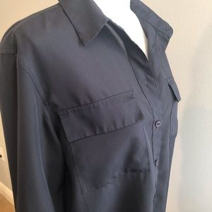 Rafael last Navy Blue Blouse Size Medium